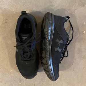 Under Armour Black Athletic Shoes